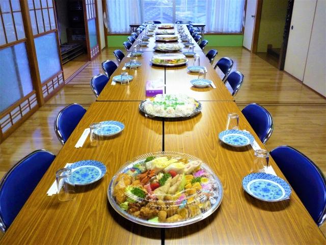 松本市お弁当配達の我が家のごはんがつくるオードブル